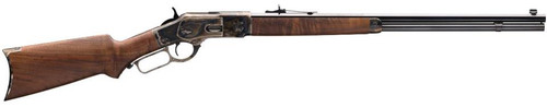 "Winchester 1873 Sporter 45 LC 24"" Barrel Color Case Hardened Finish"
