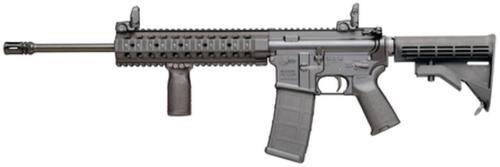 "Colt LT6720-R M4 AR-15 5.56/223 16"" Barrel BUIS Sights, Troy Battle Rail Rogers Stock Magpul Furniture, 30 Round Mag"