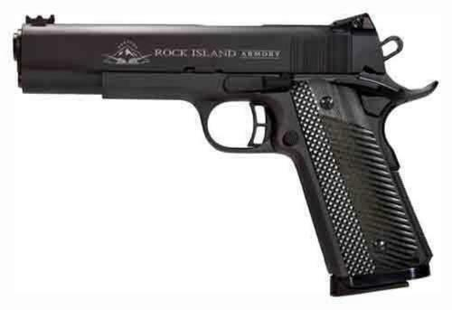 "Rock Island Armory M1911-A1 FS Tactical II 9mm 5"" VZ Grips Parkerized 9 Round"