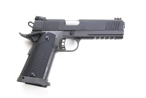 "Rock Island Armory 2011 Tactical 1911 High Capacity 45 ACP 5"", Parkerized Finish, 13 Rd Mag"