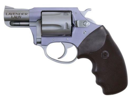 """Charter Arms Lavender Lady Undercover Lite, .38 Special, 2"""" Barrel, 5rd, Stainless/Lavender"""