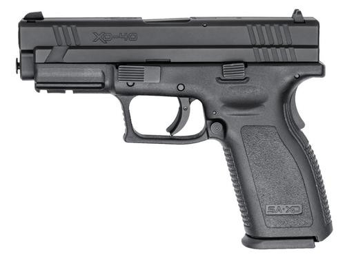 Springfield XD 40, 4 inch, Black, 2006 package, 10rd Mags