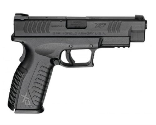 "Springfield XDM 9mm, 4.5"" Barrel, Black, Essentials Package, 19rd"