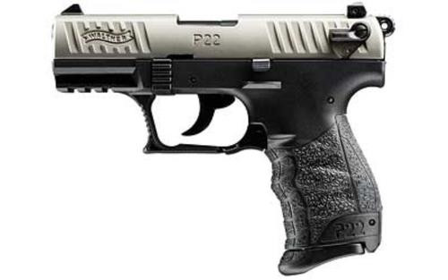 Walther P22 .22 L.R. CA Nickel 10 Round, 2 Mags