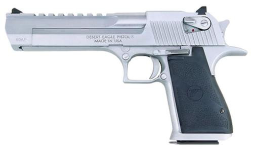 "Magnum Research Desert Eagle Mk XIX 44Mag 6"" Barrel, Black Synthetic Brushed Chrome, 8rd"