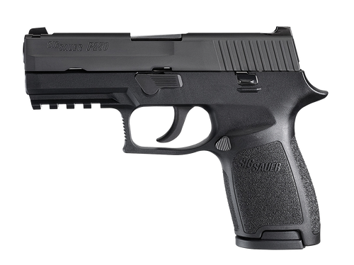 SIG P250 Compact .357SIG 3.9 Barrel Siglite Night Sights Black Nitron Slide Finish 9rd - MA Compliant