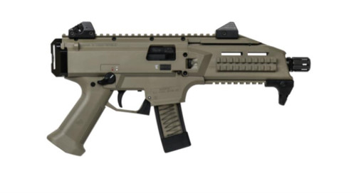 CZ Scorpion Evo 3 S1 Pistol, Flat Dark Earth, 9mm, 1/2x28 Threads,, ,  10 rd