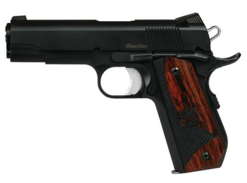 "Dan Wesson DW Guardian SAO 9mm 4.25"" Barrel, Wood Grip Black, 9rd"