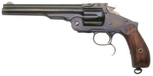 """Cimarron Firearms Model 3 Russian .45 Long Colt 6.5"""" Standard Blued Barrel Two Piece Walnut Grip"""