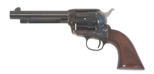"Cimarron Firearms Model P Evil Roy SA .45 Long Colt 5.5"" Polished Blue Barrel One Piece Walnut Grip"