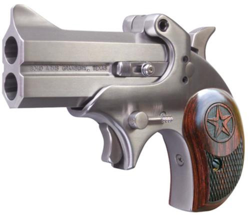 Bond Arms Cowboy Defender .32 H&R Magnum 3 Inch Barrel Polished Stainless Steel Finish