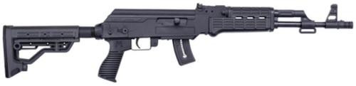 "Mossberg Blaze-47 AK-Style 22LR 16.5"" Barrel Adjustable Sights Black Synthetic Fixed Stock 10rd Mag"