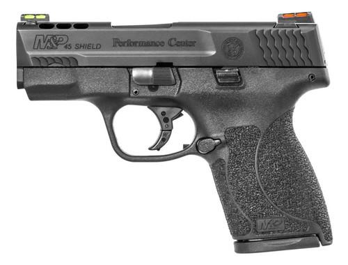 "Smith & Wesson M&P45 Shield 45 ACP 3.3"" Ported Barrel Hi-Viz Sights"