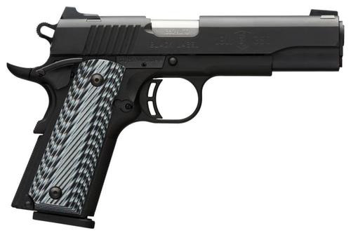 Browning 1911, .380 ACP, Black Label, Pro sights