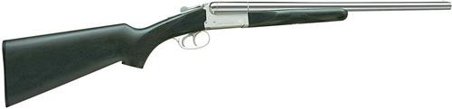 "Stoeger Coach Gun SxS, Black Walnut, Polished Nickel 12 Ga, 20"" Barrel"