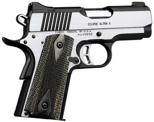"Kimber Eclipse Ultra II, 1911 45ACP, 3"" Barrel, 7rd, CA Approved"