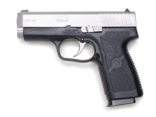 "Kahr Arms CW40 Standard DAO 40S&W 3.6"" Barrel, Black Poly Grip Black Poly Fram, 6rd"