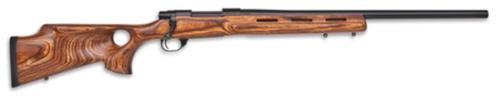 """Howa Classic Thumbhole Varminter .243 Winchester 24"""" Heavy Barrel Blue Finish Laminate Nutmeg Thumbhole Stock 5rds"""