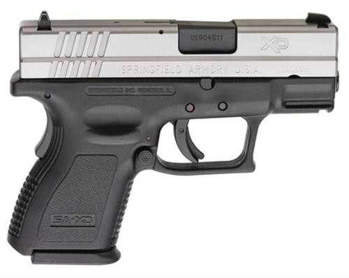 "Springfield XD 9mm, 3"" Sub Compact, 2 Tone, 16 Rd Mag"