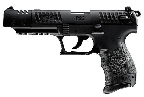 Walther P22 .22 L.R. Target Black 10 Round, 2 Mags