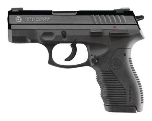 "Taurus Model 809 Compact 9mm, 3.5"" Barrel, Blue Finish, Loaded Chamber Indicator, 17rd"