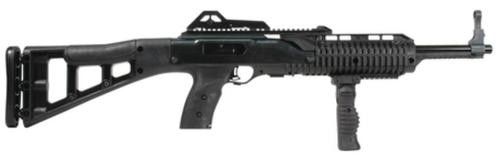 "Hi-Point Carbine SA 45 ACP 17.5"" Barrel, Synthetic Stock Black, Fwd Fold Grip, 9rd"