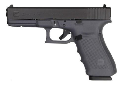 "Glock G20 G4 Gray Finish 10mm 4.61"" Barrel Fixed Sights 10 Rd Mag"