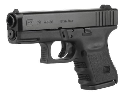 Glock G29 Gen4 10MM 3.78 Inch Barrel Black Fixed Sights 10 Round Mag