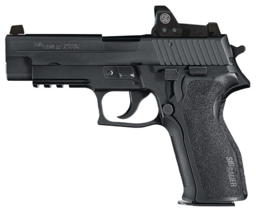 "Sig P226R, Romeo Package 9mm 4.4"" Barrel Night Sight 10rd Mag"