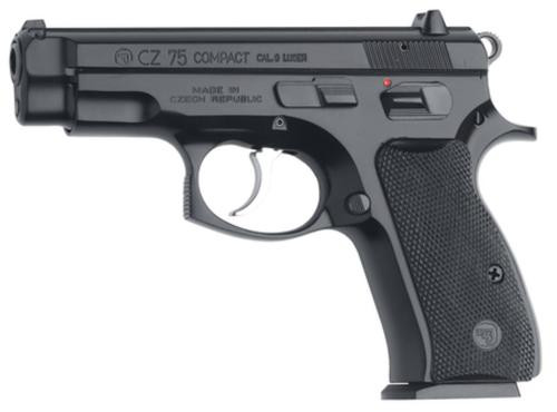 CZ 75 COMPACT cal. 9 mm Luger black polycoat 15 Rd Mags