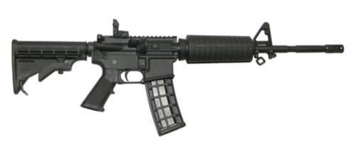 "CMMG M4LE-A 22LR 16"" Barrel 6 Position Stock Black 25rd Mag"