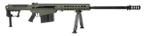 "Barrett M107A1 .50 BMG, 29"" Chrome Lined Fluted Barrel, Black Muzzle Brake, Olive Drab Cerakoted Receiver, 10rd"