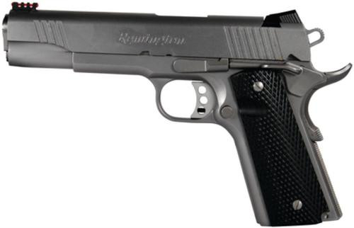 Remington 1911 Model R1, Walnut Grips Fiber Optic Sight 45 ACP
