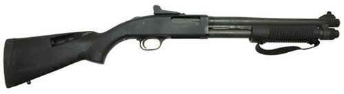 "Mossberg 590 A1 Short Barrel Shotgun, 14"", Ghost Ring Night Sights, SpeedFeed Stock"