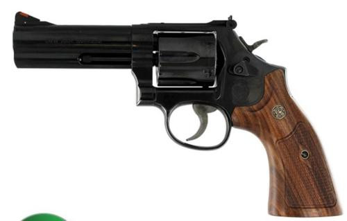 Smith & Wesson 586 Classic 357 Magnum/.38 S&W Special +P 4 Inch