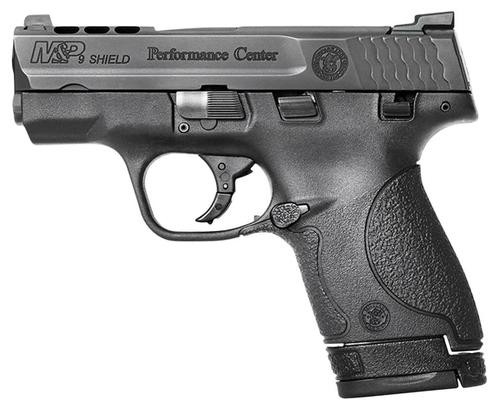 """Smith & Wesson M&P 9 Performance Center Shield 9mm 3"""" Ported Barrel Tritium Night Sights"""