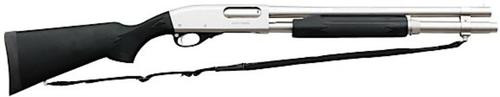 "Remington 870 Marine 12 Gaa 18"" Barrel Nickel Coating 6rd"