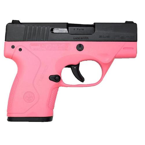 "Beretta Nano 9mm 3"",  Pink Frame"