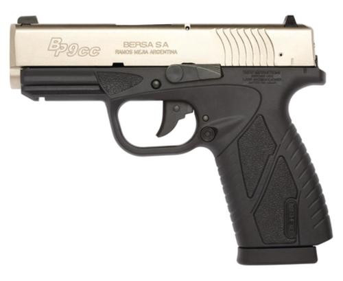 Bersa Conceal Carry 9MM, Duo Tone, Rail & 2 Mags