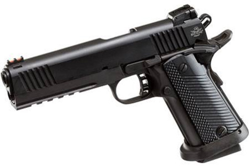 "Rock Island 1911-A2 FS Tactical 9mm 5"" Series 70 Type Firing System Combat Hammer Parkerized 17 Round"