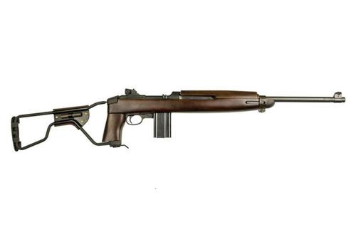 "Inland M1 Carbine Paratrooper .30 Carbine 18"" Barrel Wire Stock 15rd Mag"