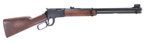 "Henry Lever 22 Youth Lever 22LR 16.12"" Barrel, American Walnut Stock Blue, 12rd"