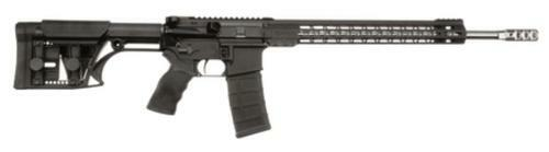 "Armalite M-15 3-Gun 5.56/223 Wylde 18"" SS Barrel MBA-1 Light Weight Precision Stock Black 30rd Mag"