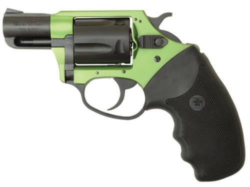 "Charter Arms Undercover Lite Shamrock, .38 Special, 2"" Barrel, 5rd, Black/Green"