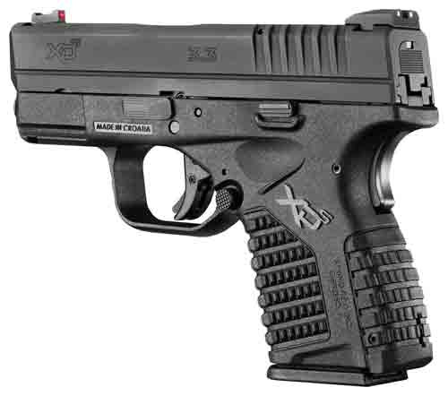 Springfield XDS 9MM Compact, Black, Single Stack