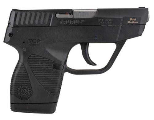 "Taurus Model 738BSS TCP, 380 Compact Pistol/3.3"", Black SS, Extended Mag"