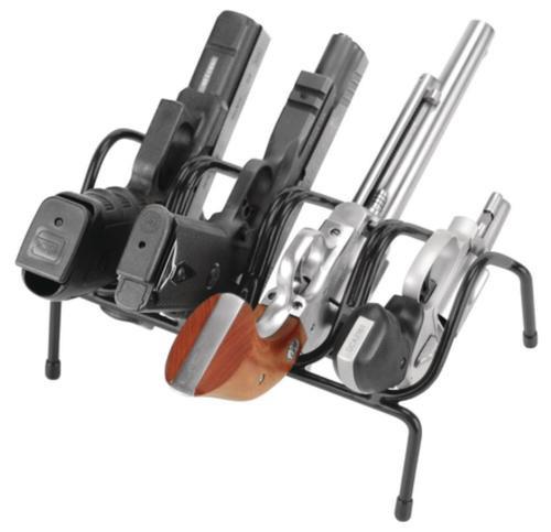 Lockdown Hangun Rack 4 Guns Metal Black