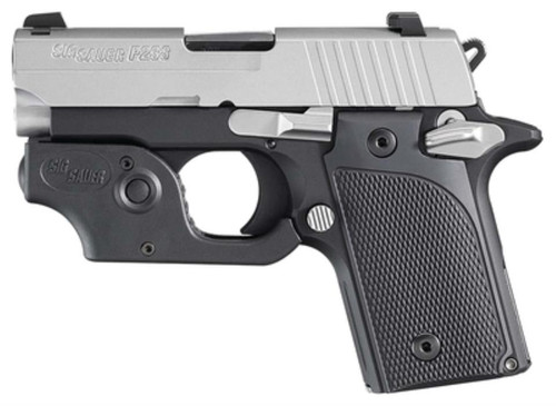 Sig P238 Pistol With Laser 380 ACP 6 Rd Mag Black Finish