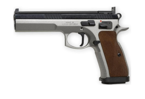 "CZ 75 Tactical Sport 9mm, 5.4"", 10+1, Two Tone"