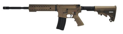 "Diamondback DB-15, 5.56, 30 Rnd, FDE, 16"" 1:9 Twist Barrel"